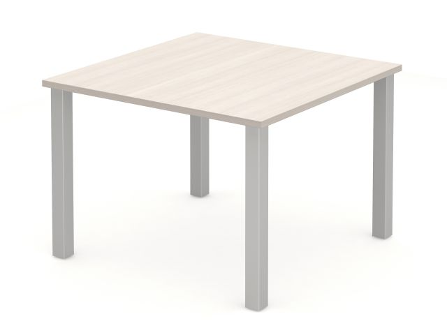Day to Day Square Table with Square Post Legs