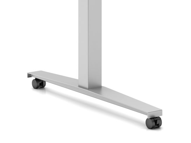 Day to Day Table Steel T-Base with Casters
