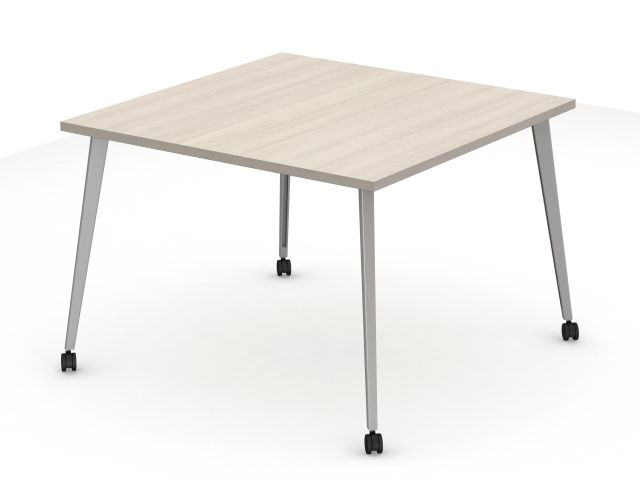 Day to Day Square Table with Tapered Post Legs
