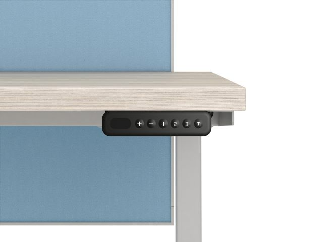 Touchpad Detail for Calibrate height adjustabile tables and Aloft