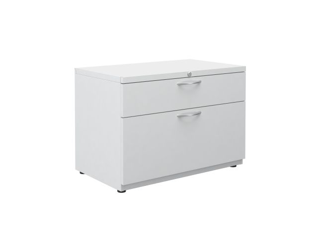 "L Series Steel Storage 30"" Wide B/F Lateral File on feet"
