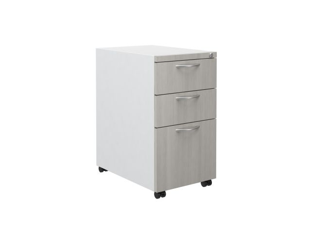 L Series Steel Storage B/B/F pedestal with laminate fronts