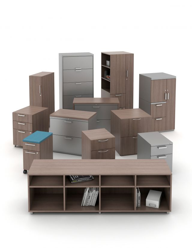 L Series Steel Storage and Calibrate Laminate Storage