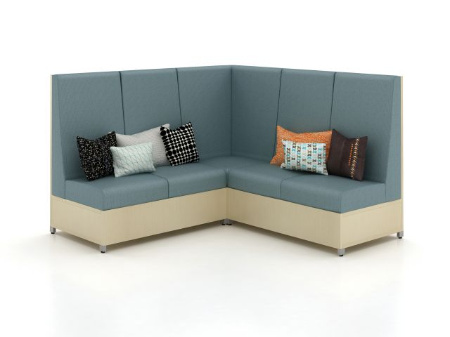 LB High Back Lounge with Corner Application