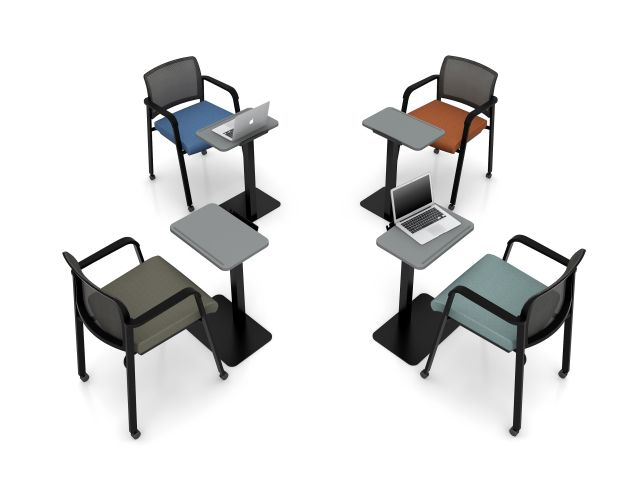 Paxton Seating with Laptop Tables