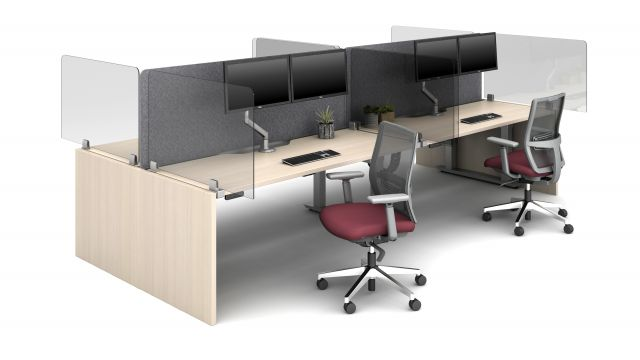 Aloft with Extended Lexan Clip Screens and PET Spine Screens