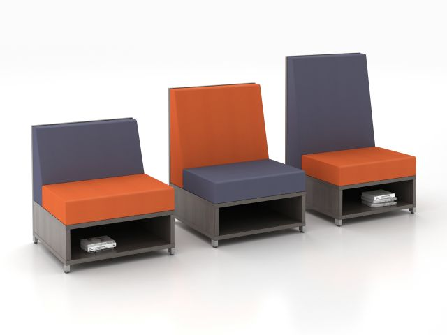 LB Lounge Multiple Height Seating