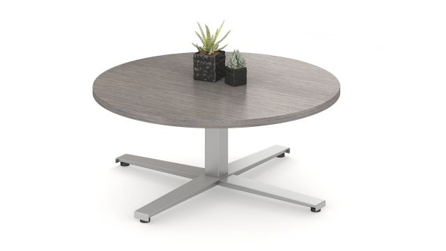 Day to Day Steel X Base Round Table