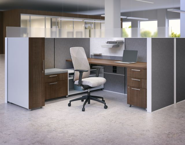 Calibrate Series Storage with Matrix and Bolton seating