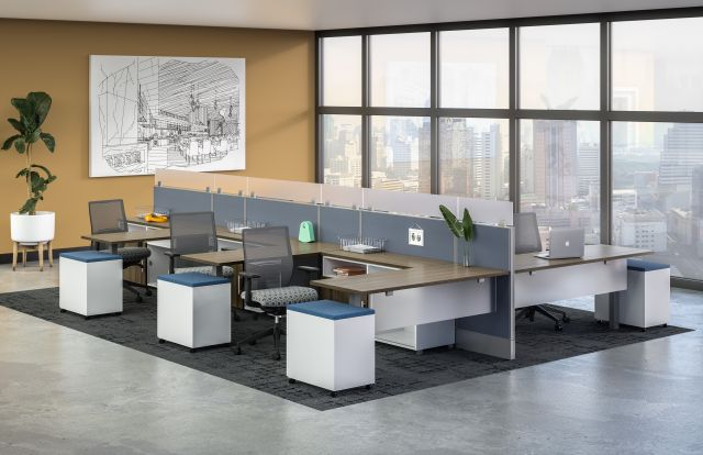 Divi Spine in Open Plan Applications and Devens Seating