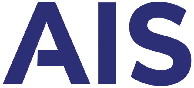 AIS Blue Logo with Translucent Background