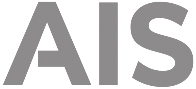 AIS Gray Logo with Translucent Background