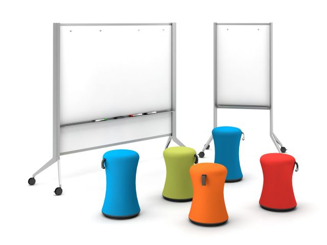 Universal Whiteboards with Sulli Seating