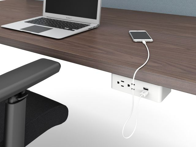 Ashley Duo Undermount Dual Power and Dual USB ports