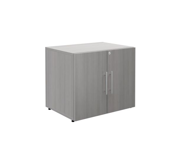 Calibrate Series Storage 2 Door Cabinet with Bar Pull