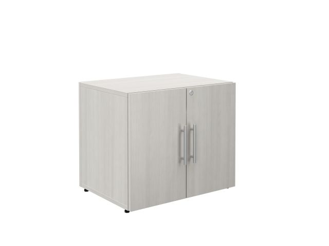 Calibrate Series Storage 2 Door Cabinet with Bar Pulls