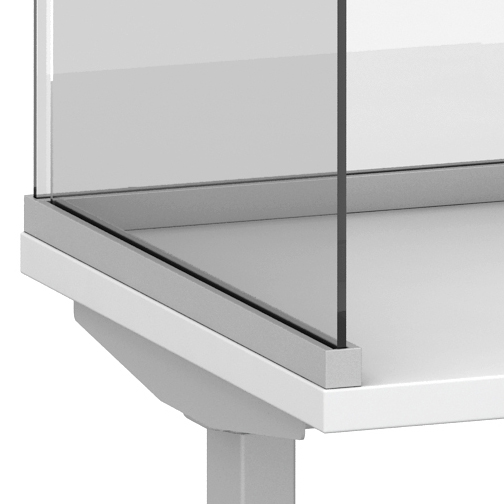 Channel Screen Surface Mount Detail