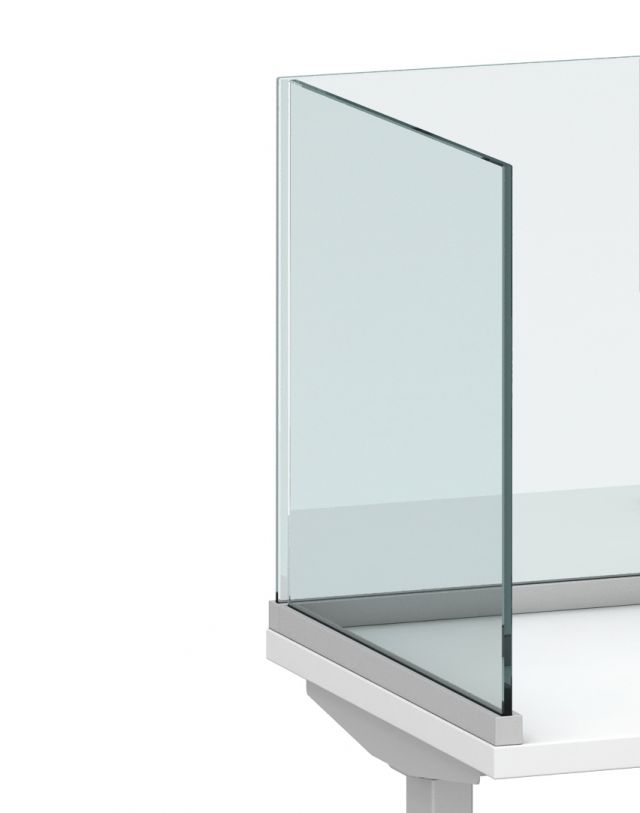Channel Screen Surface Mount with Glass Detailed View