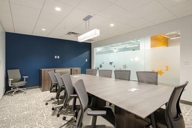 Client Space Calibrate Conference Table with Upton Seating