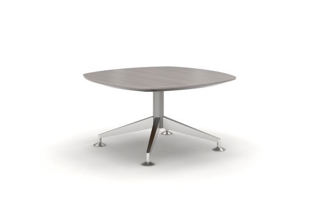 Day-to-Day occasional table with aluminum legs