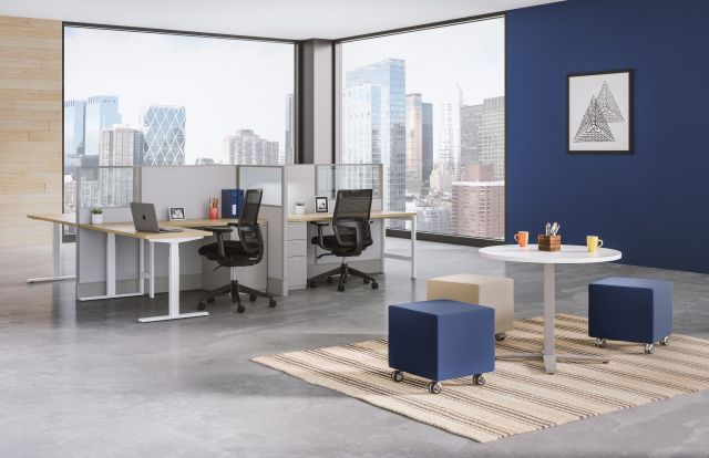 Divi Fast Track Two pack with Day-to-Day occasional table with Volker seating