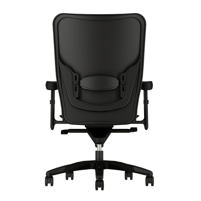 Element executive chair with Maharam Medium Port, back view