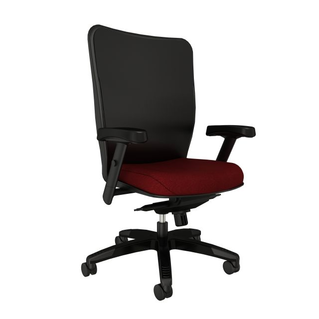 Element executive chair with Maharam Medium Port, front left view