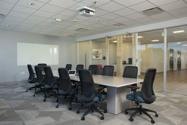 Client Conference Room with Calibrate Conferencing and Bolton Seating