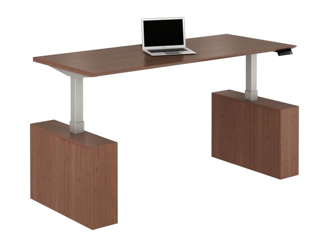 Calibrate Conferencing Height Adjustable Table with Laminate Base