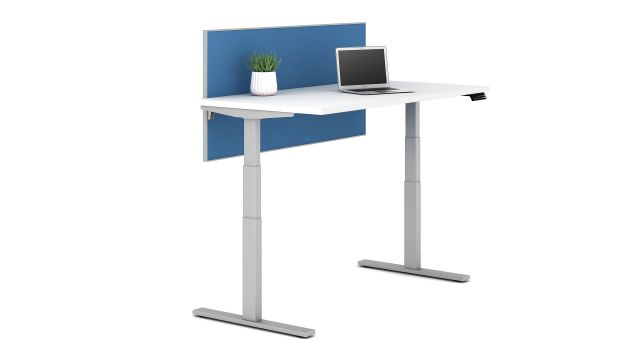 Day to Day Height Adjustable Table High Position with screen