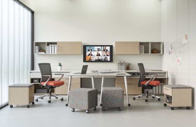 Calibrate Community Shared Office as Adaptable Conference Room