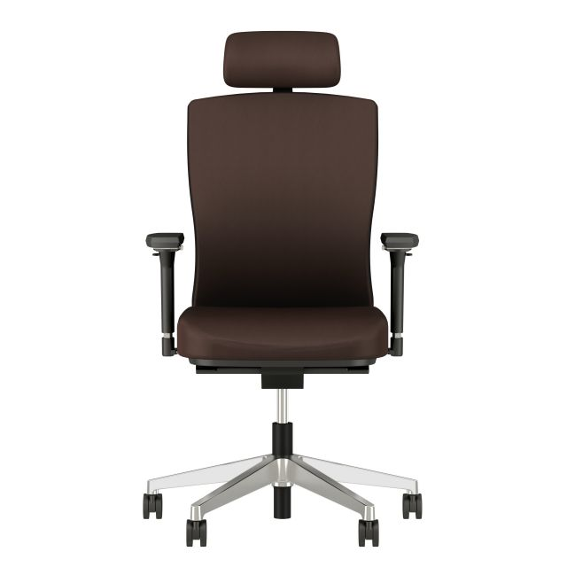 Natick Executive chair with 4D Arms and Headrest