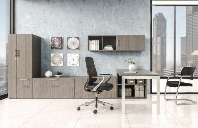 Auburn shown in Calibrate Private Office