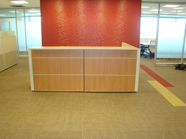 Matrix Reception Station Client Space