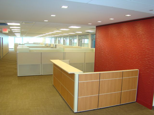 Matrix Reception Station Side View Client Space