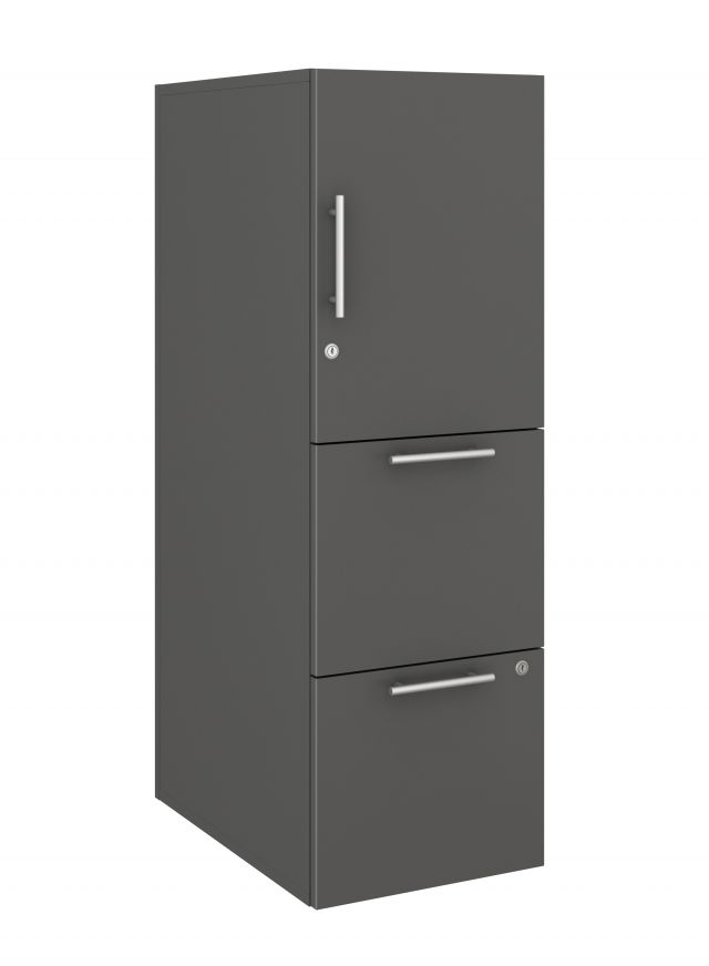 Calibrate Series Storage Tower in AIS Storm Laminate with Bar Pull