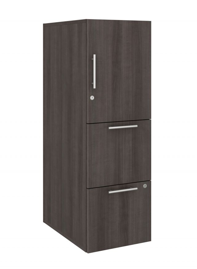 Calibrate Series Storage Tower in AIS Trytoo Laminate with Bar Pull