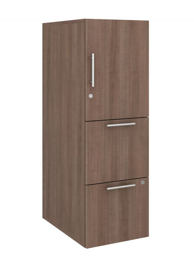 Calibrate Series Storage Tower in AIS Aimtoo Savatre Laminate with Bar Pull