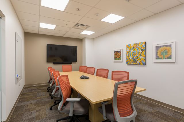 Client Site, Calibrate Laminate Conference Table, Natick Seating