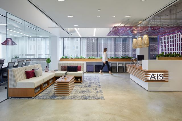 AIS Washington D.C.Showroom Reception