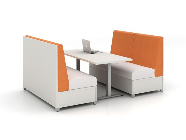 "LB Lounge Idea Starter 3, 42"" H, Cafe Application, solid base"