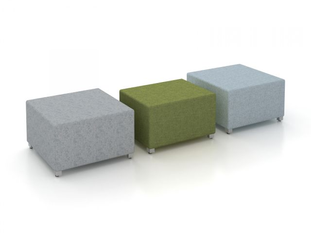 LB Square and Rectangle Ottomans