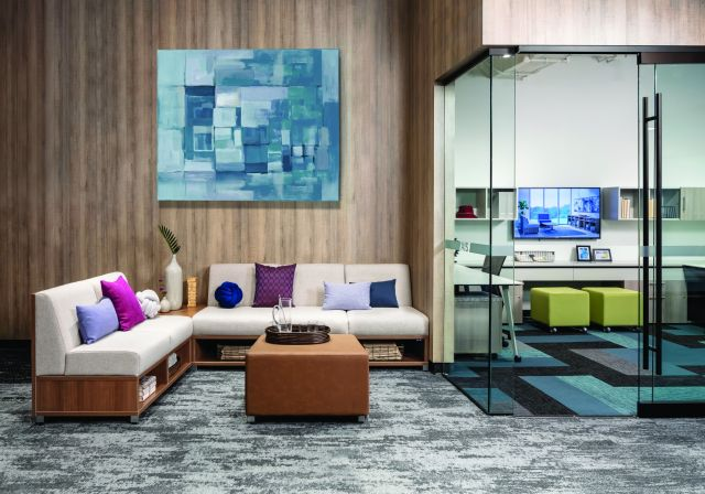 LB Lounge in the Chicago Showroom