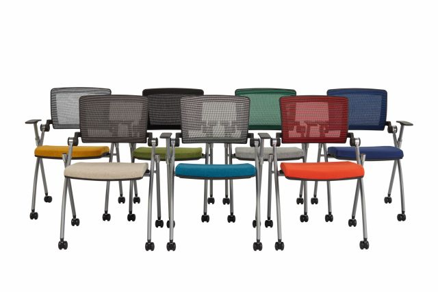 Stow Multipurpose Seating; Seven Mesh Options