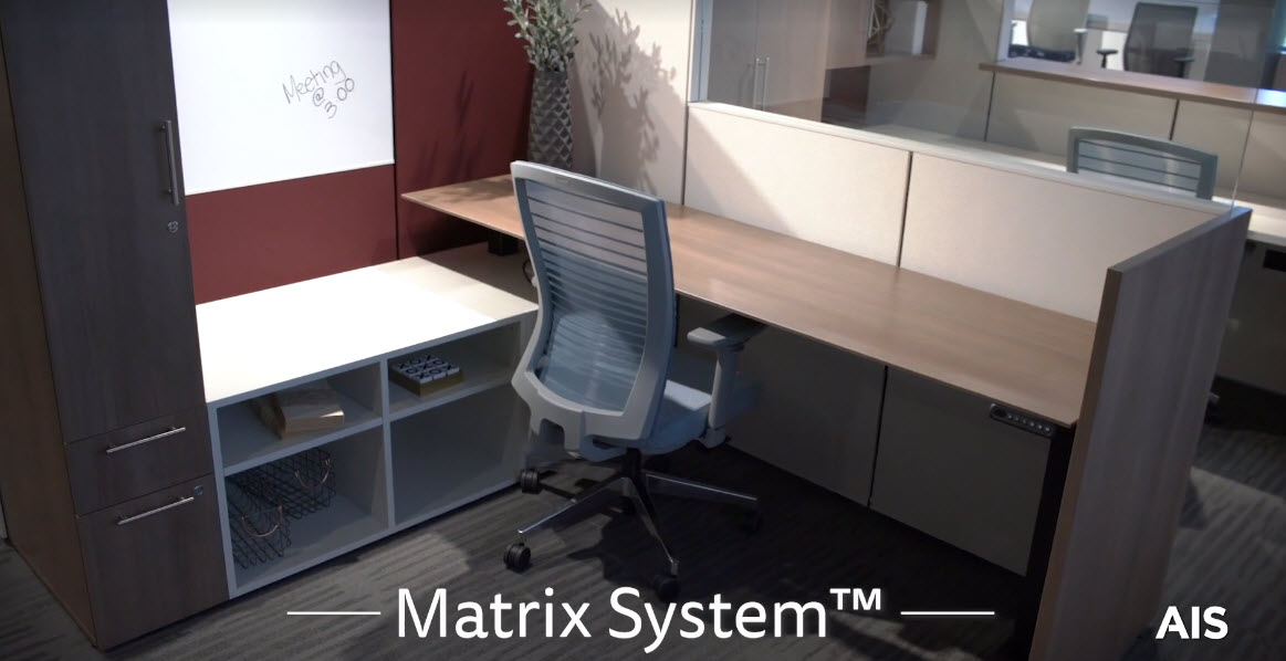 Headquarters Virtual Tour 2020: Matrix Panel System