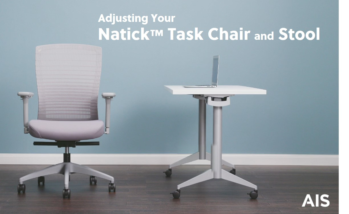 Natick Task Chair and Stool Adjustment Video