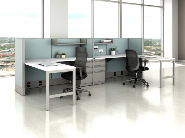 Divi Open Plan Panel System Fast Track Shared Workstation